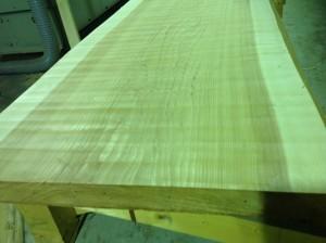 杉無垢一枚テーブル