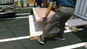 杉一枚板のダイニングテーブル天板