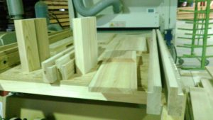 杉木製ベット
