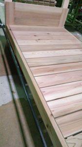 杉無垢木製ベット